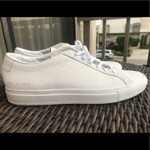 Common Projects Stucco Textured White Sneakers 👟